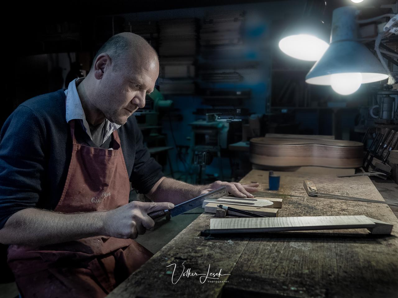 Alexander Herb Gitarrenbau © Volker Lesch - Alpenland Fotografie