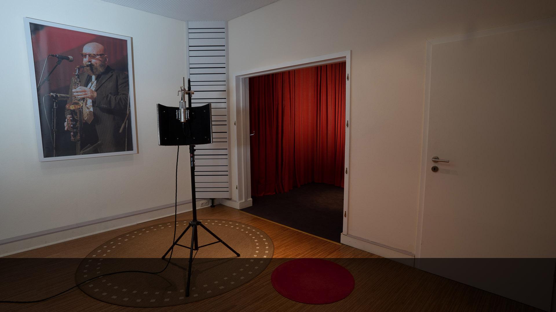 22springroad Tonstudio Aufnahmeraum