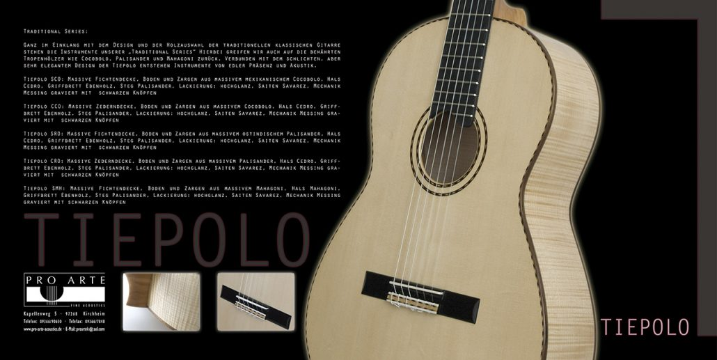 Tiepolo-Gitarren Folder © Volker Lesch - Alpenland Fotografie