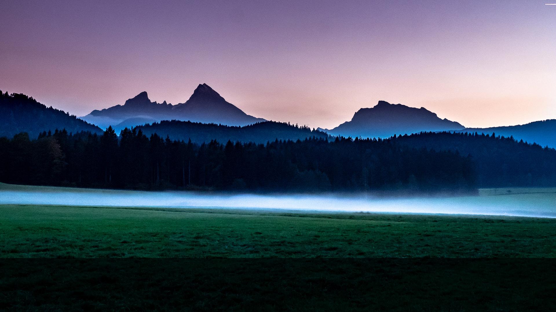 Watzmann © Volker Lesch - Alpenland Fotografie