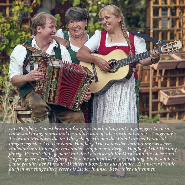 Hopfberg-Trio CD